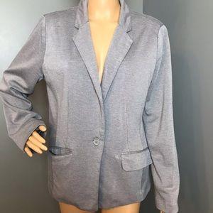 Larry Lavine Woman's Blazer Gray Size 12